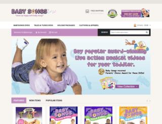 babysongs.com screenshot
