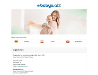 babywalz.it screenshot