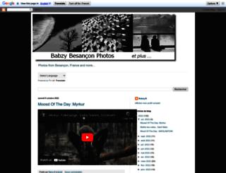 babzyphotosblog.blogspot.fr screenshot