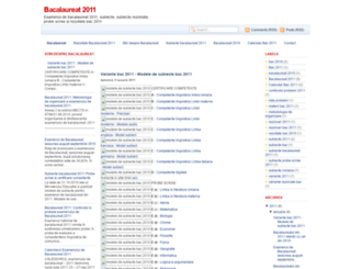 bacalaureat.blogspot.com screenshot