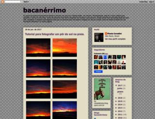 bacanerrimo.blogspot.com screenshot