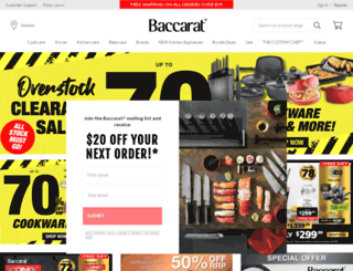 baccarat.com.au screenshot