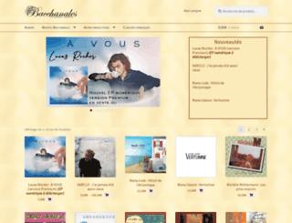 bacchanales-prod.fr screenshot