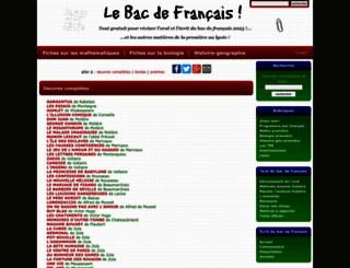 bacdefrancais.net screenshot