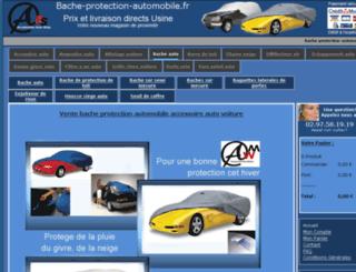 bache-protection-automobile.fr screenshot