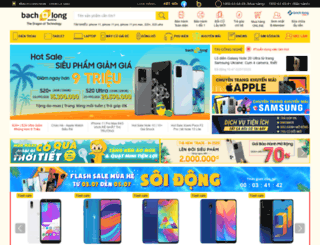 bachlongmobile.com.vn screenshot