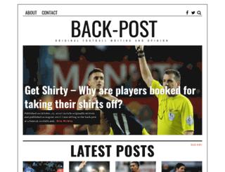 back-post.com screenshot