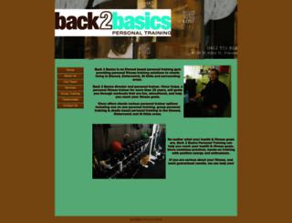 back2basicspt.com.au screenshot