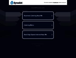 back40forums.com screenshot