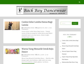 backbaydancewear.com screenshot
