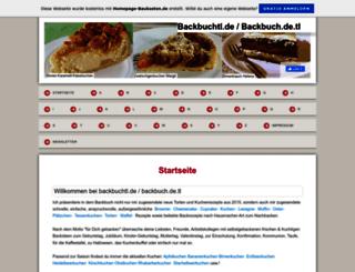 backbuch.de.tl screenshot