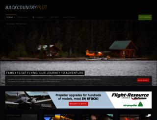 backcountrypilot.org screenshot