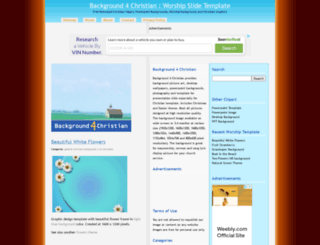 background4christian.com screenshot