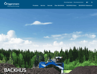 backhus.com screenshot