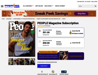 backissues.people.com screenshot