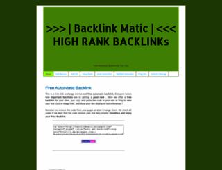 backlinkmatic.blogspot.com screenshot