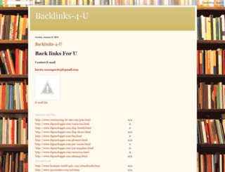 backlinks-4-u.blogspot.com screenshot