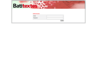backoffice.batiprix.com screenshot