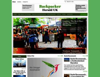 backpackerherald.com screenshot