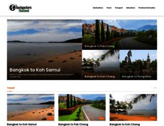 backpackersthailand.com screenshot
