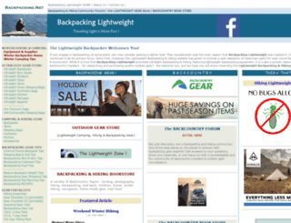 backpacking.net screenshot