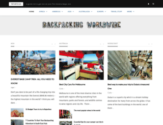 backpackingworldwide.com screenshot