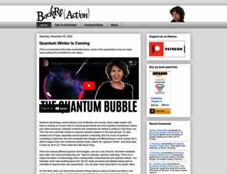 backreaction.blogspot.com screenshot