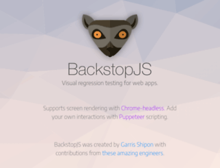 backstopjs.org screenshot