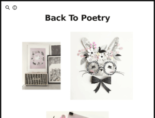 backtopoetry.tictail.com screenshot