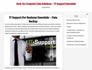 backupitnow.com screenshot