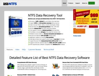 backuprecoveryofexchange.datarecoveryntfs.org screenshot