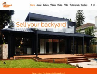 backyardbuyers.com.au screenshot