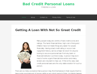 badcreditloanhq.net screenshot