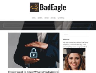 badeagle.com screenshot