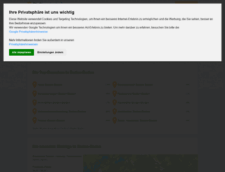 baden-baden.stadtbranchenbuch.com screenshot