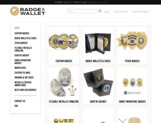 badgeandwallet.com screenshot