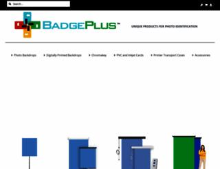 badgeplus.com screenshot