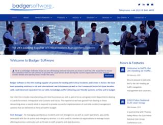 badger.co.uk screenshot