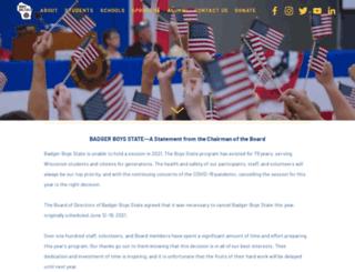 badgerboysstate.com screenshot