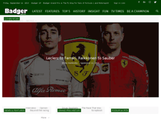badgergp.co.uk screenshot