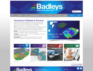 badleys.co.uk screenshot