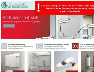 badspiegel-discount.de screenshot