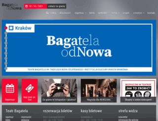 bagatela.pl screenshot