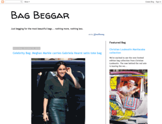 bagbeggar.blogspot.com screenshot