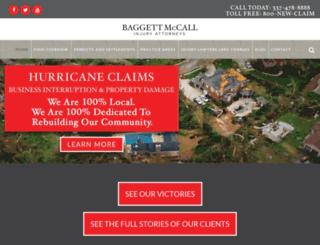 baggettmccall.com screenshot