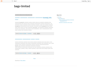 bags-limited.blogspot.com screenshot