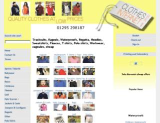 bags.clothinginternet.co.uk screenshot