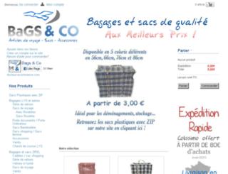 bagsandco.fr screenshot