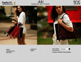 bagsbyjiju.com screenshot