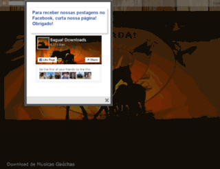 bagualdownloads.blogspot.com.br screenshot